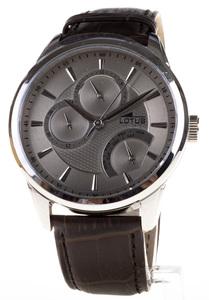 Reloj Lotus Acero Multifunción semanario esfera gris 15974/2