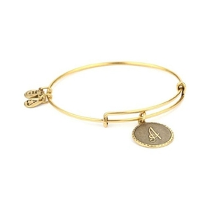PULSERA LETRA  A ORO A08EB91AG Alex And Ani 886787003010