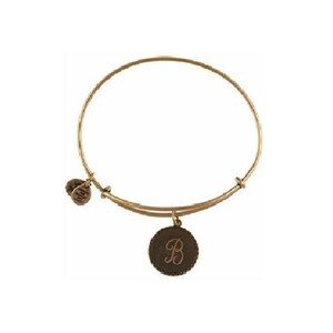 PULSERA LETRA B ORO A08EB91BG Alex And Ani 886787003034