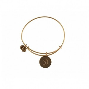 PULSERA LETRA D ORO A08EB91DG Alex And Ani 886787003072
