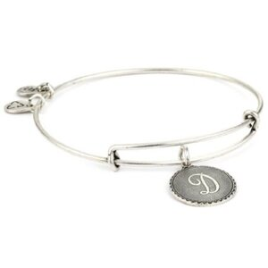 PULSERA LETRA D PLATA  A08EB91DS Alex And Ani 886787003089