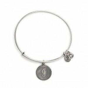 PULSERA LETRA I PLATA  A08EB91IS Alex And Ani 886787003188