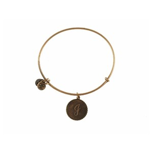 PULSERA LETRA J ORO A08EB91JG Alex And Ani 886787003195