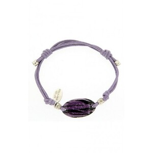 PULSERA LILA OVAL Lotus LP1107-2/2