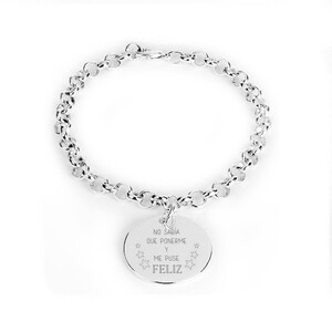 PULSERA LUXENTER AMISTAD PERSONALIZABLE SSBX07800