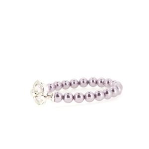 Pulsera perlas rosa  ZIA401p Zinzi