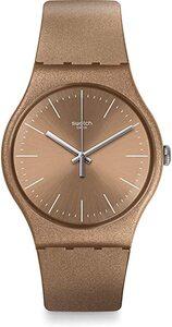 Reloj  plastico marron suom111 Swatch