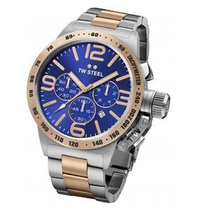 Reloj 45MM CANTEEN BICOLOR AZUL TW Steel CB143