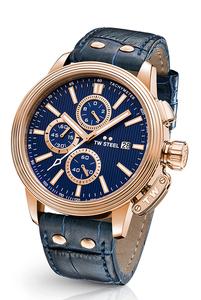 Reloj 45MM CEO ADESSO AZUL ORO ROSA. TW Steel CE7015