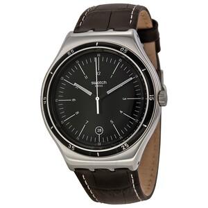 Reloj acero marrón yws400 Swatch