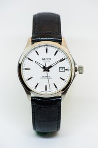 Reloj Alfex automático Swiss made 9010/762