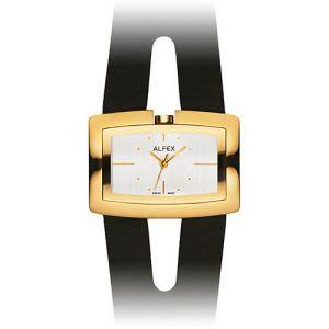 Reloj ALFEX DORADO CORREA NEGRO 5598.025