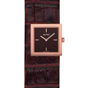 Reloj ALFEX SRA. DORADO MARRON 5604.636