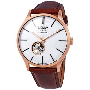 RELOJ ANALOGICO DE HOMBRE HENRY LONDON HL42-AS0276