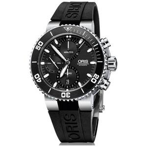 Reloj AQUIS CHRONO 46mm Oris 77476554154RS