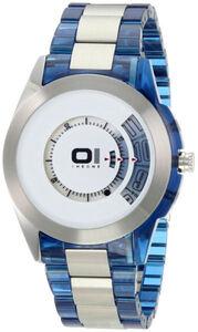Reloj binario The One combinación materiales AN08G05