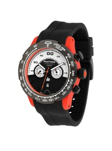 Reloj Bultaco MK1 Composite 48 Chrono Orange White H1PO48C-SW1