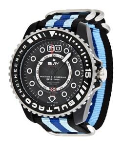 Reloj Bultaco Speedometer 45 SoloT Black mat -T4 BLPB45A-CB1-T4
