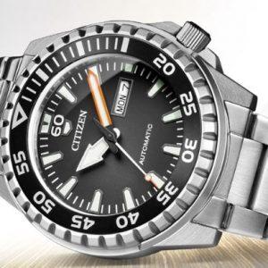 Reloj CAB AUTOMATICO DOBLE CALENDARIO NH8388-81H Citizen