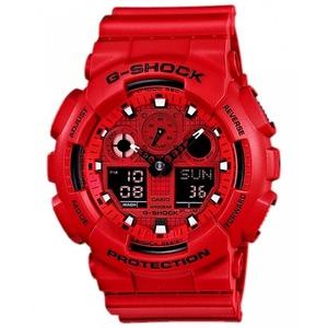 Reloj CAB G-SHOCK ANA-DIGI ROJO Casio GA-100C-4AER