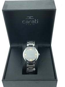 Reloj carati parais swiss made Carati Paris wn/bla-29