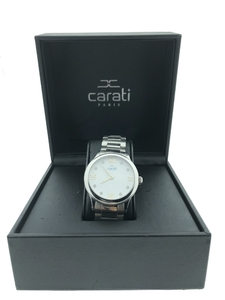 Reloj Carati Paris 8 diamantes wnd/w-6