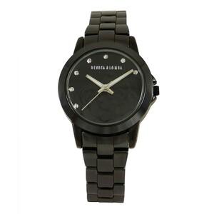 Reloj cerámica negra mujer 8435432512999 Devota & Lomba
