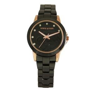 Reloj cerámica negra mujer 8435432513033 Devota & Lomba