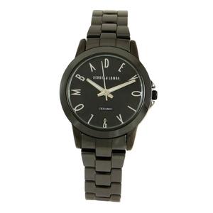 Reloj cerámica negra mujer 8435432513057 Devota & Lomba