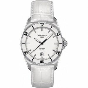Reloj Certina Ds First bisel ceramica blanca C014.410.16.011.00