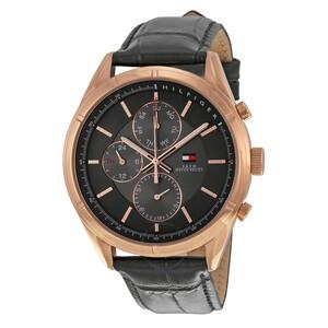 Reloj CHARLIE CHAP 44MM ESF&COR NEGR Tommy Hilfiger 1791125 Tommy Hilfiguer
