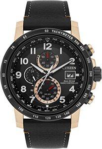 Reloj Citizen caballero radiocontrolado cronógrafo eco drive AT8126-02E