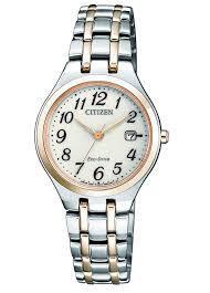 Reloj CITIZEN ECO DRIVE MUJER BICOLOR EW2486-87A