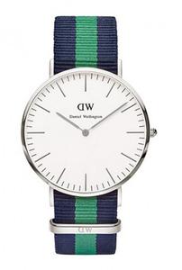 Reloj Daniel Wellington nato azul verde 0205DW