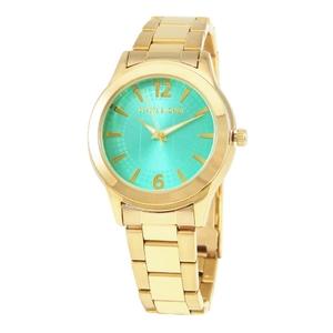 reloj dorado mujer, esfera turquesa 8435334800699 Devota & Lomba