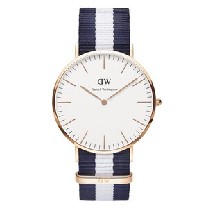 Reloj DW00100004 CLASIC MAN GLASGOW ROSE 40MM Daniel Wellington