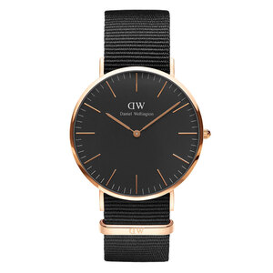 Reloj DW00100148 CLASSIC BLACK RG CORNWALL 40MM Daniel Wellington