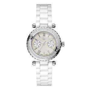 Reloj Gc mujer cerámica blanca y diamantes 01200L1