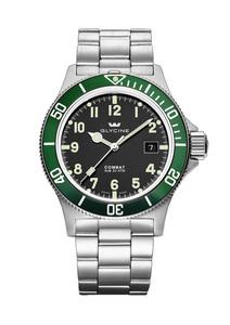 Reloj Glycine automatico combat sub bisel verde 3908.19AT2-V