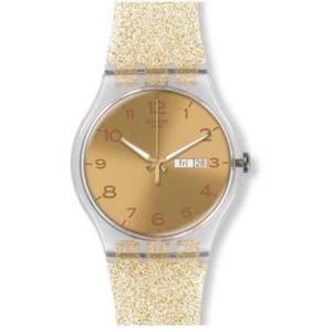 RELOJ GOLDEN SPARKLE SUOK704 Swatch
