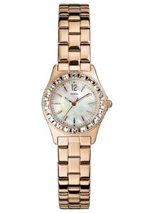 Reloj Guess mujer dorado rosado W0025L3
