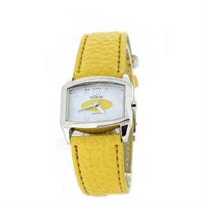 Reloj Hersa correa amarilla  H40370A