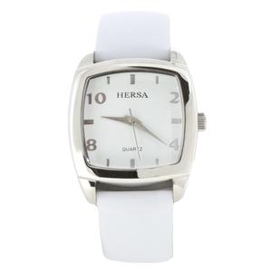 Reloj Hersa correa blanca  HSC1001B