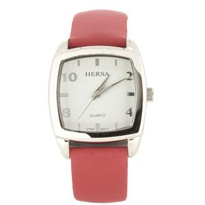 Reloj Hersa correa roja  HSC1001R