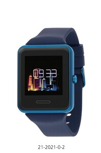RELOJ INTELIGENTE SMART WATCH UNIXES COLOR AZUL 21-2021-0-2 Nowley
