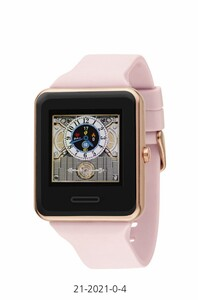 RELOJ INTELIGENTE SMART WATCH UNIXES COLOR ROSA 21-2021-0-4 Nowley