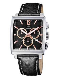 Reloj Jaguar J633/3 de hombre con correa de piel negra