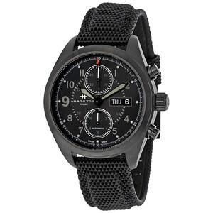 Reloj KHAKI BLACK CRONO Hamilton H71626735