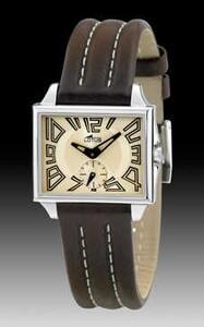 Reloj Lotus  rectangular correa marron 15406/5