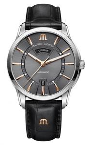 Reloj Maurice Lacroix PT6358-SS0001-331-1 correa piel negra